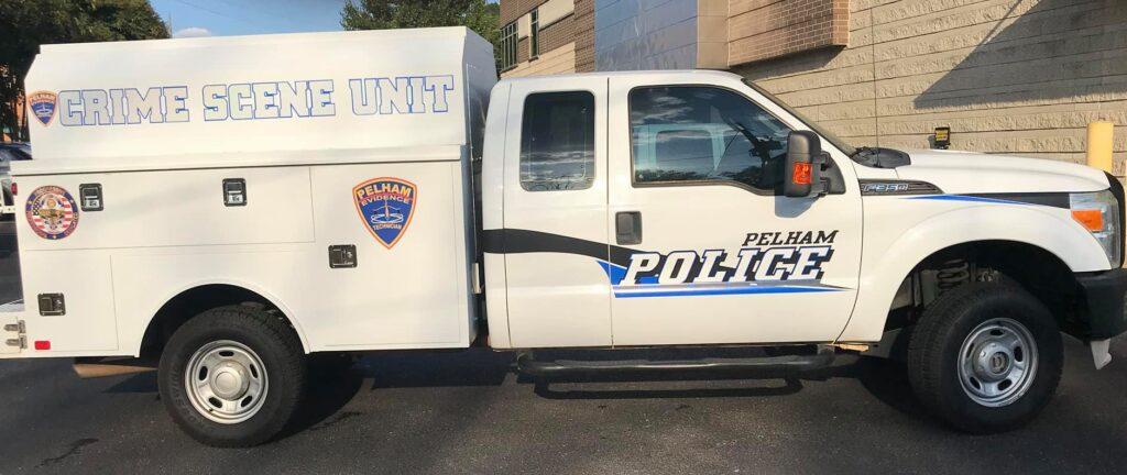 Crime Scene Unit vehicle