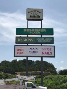 Bessemer_Plaza_pole_sign_2